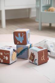 Sebra Stoffen Baby Blokken - Daydream
