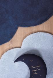 Lilipinso Vloerkleed Wolk - Navy Blauw (H0349)