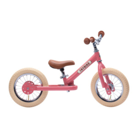 Trybike Steel Loopfiets - Vintage Roze