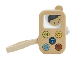 Plantoys Orchard Collectie Houten Telefoon + 1jr