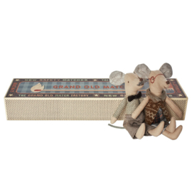 Maileg Grandpa and Grandma Mice in Matchbox (14 cm)