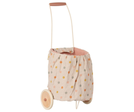 Maileg Trolley - Multi Dots Rose