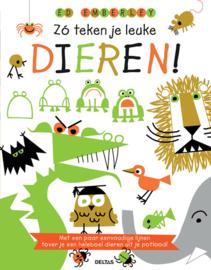 Uitgeverij Deltas Zo teken je leuke Dieren - DIY