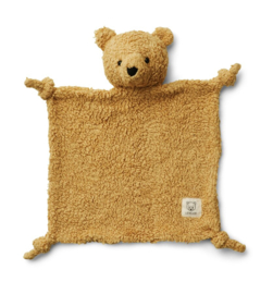 Liewood Knuffeldoek Lotte - Mr Bear Golden Caramel