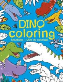 Uitgeverij Deltas Dino Coloring - Kleurboek