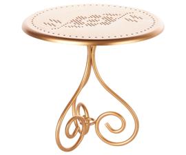 Maileg Tafel Poppenhuis Coffee Table - Gold Vintage