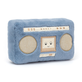 Jellycat Wiggedy Boombox - Knuffel Gettoblaster