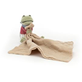Jellycat Little Rambler Frog - Riverside Knuffeldoek Kikker