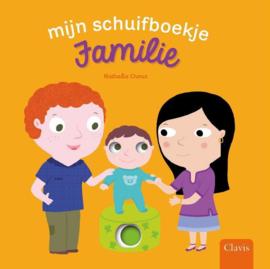 Uitgeverij Clavis Schuifboekje - Familie +2jr