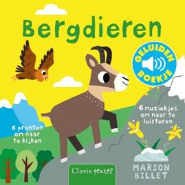 Uitgeverij Clavis Geluidenboekje - Bergdieren +1jr