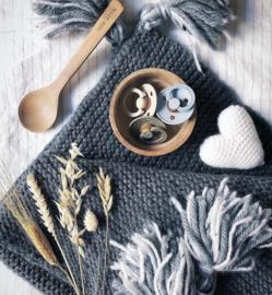 BIBS fopspenen Duoverpakking 6 - 18 maand - Vanilla + Peach