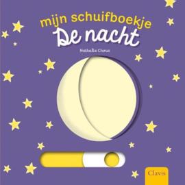 Uitgeverij Clavis Schuifboekje - De Nacht +1jr