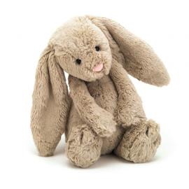 Jellycat Bashful Bunny Beige - Knuffel Konijn (18 cm)