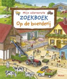 Uitgeverij Deltas Mijn Allereerste Zoekboek Op de Boerderij