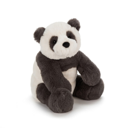 Jellycat Scrumptious Harry Panda Cub Medium - Knuffel Panda (26 cm)