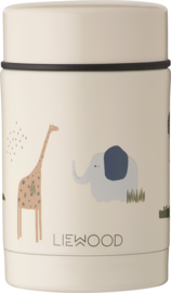 Liewood Nadja Food Jar - Safari Sandy Mix  (250 ml)