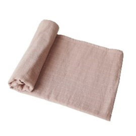 Mushie Hydrofiele Doek XL Swaddle - Blush