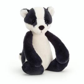 Jellycat Bashful Badger Medium - Knuffel Das (31 cm) (op=op)