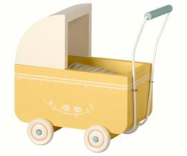 Maileg Kinderwagen Pram Micro - Yellow