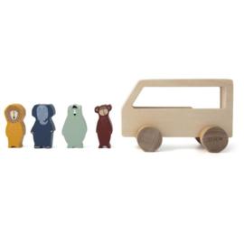 Trixie Houten Bus Met Diertjes