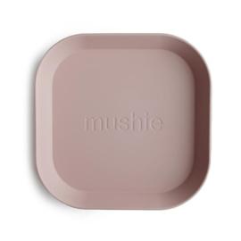 Mushie Bord Vierkant (set van 2) - Blush