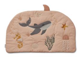 Liewood Sofie Activity Blanket Speelkleed - Sea Creature Rose Mix