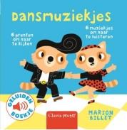 Uitgeverij Clavis Geluidenboekje - Dansmuziekjes +1jr