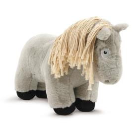 Crafty Pony Paarden Knuffel Grijs met Witte Manen (48 cm) incl. instructieboekje