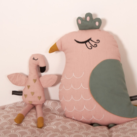 Roommate Knuffel Rag Doll Flamingo - Flamingo