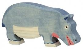 Holztiger Nijlpaard - Etend (80161)