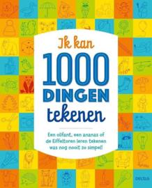 Uitgeverij Deltas Ik kan 1000 Dingen Tekenen