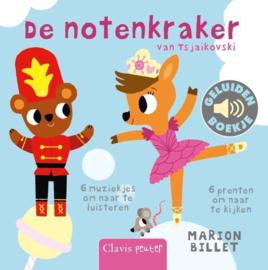 Uitgeverij Clavis Geluidenboekje - De Notenkraker +1jr