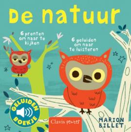 Uitgeverij Clavis Geluidenboekje - De Natuur +1jr