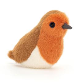 Jellycat Birdling Robin - Knuffel Roodborstje (10 cm)