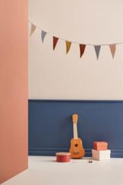 Kids Concept Houten Trommel Mini - Blauw