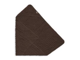 Jollein Badcape Wrinkled Katoen - Chestnut
