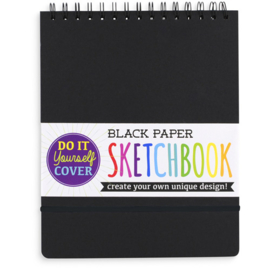 Ooly Schetsboek Zwart Papier Groot