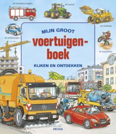 Uitgeverij Deltas Mijn groot Voertuigenboek - Kijkboek