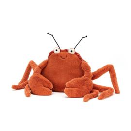 Jellycat Knuffel Krab Medium - Crispin Crab