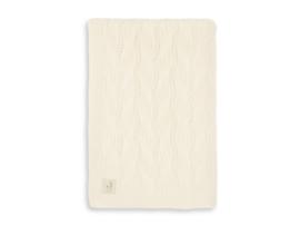 Jollein Deken Wieg Spring Knit - Ivory (75 x 100 cm)