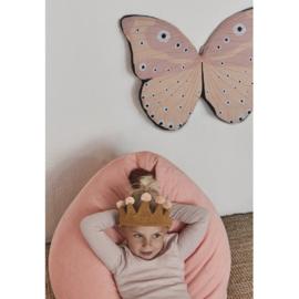 OYOY Verkleedkostuum - Vlinder Cape Roze