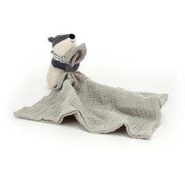 Jellycat Little Rambler Badger - Riverside Knuffeldoek Das