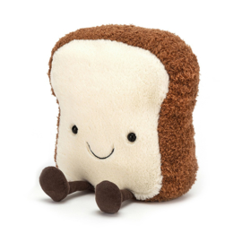 Jellycat Amuseable Toast Small - Knuffel Toast (16 cm)
