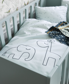Done by Deer Bedbumper Dreamy Dots - Blauw