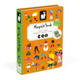 Janod Magneetboek - Vier Seizoenen