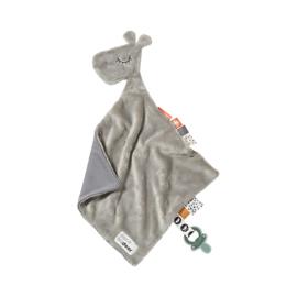 Done by Deer Knuffeldoek Comfort Blanket Giraf Raffi - Grijs