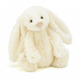 Jellycat Bashful Bunny Cream - Knuffel Konijn (18 cm)