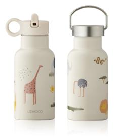Liewood Anker Waterbottle Drinkfles - Safari Sandy Mix (350ml)