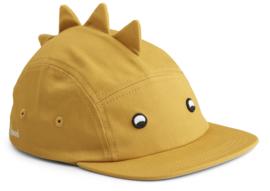 Liewood Pet Rory Cap - Dino Yellow Mellow (6-12 maand)