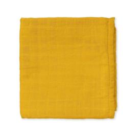 CamCam Hydrofiele Doek Muslin - Mustard Oker Geel